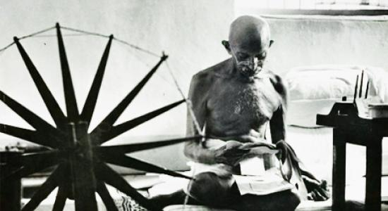 Gandhi and Human Fraternity