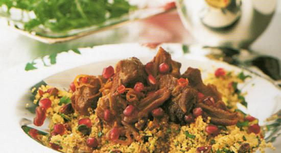 Lamb Couscous; or Africa meets Arabia