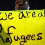 African migrants rally outside Israeli Parliament