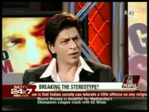 SRK, during one of his interactions with NDTV.