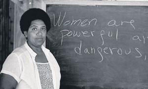 """The master's tools will never dismantle the master's house. They may allow us to temporarily beat him at his own game, but they will never enable us to bring about genuine change."""" Audre Lorde"""