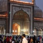 An iftar at Delhi Juma Masjid